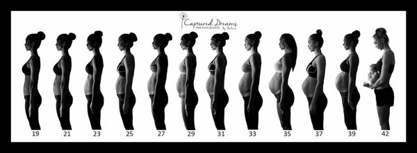 See Fit Mom Chontel Duncan's Amazing Pregnancy Progression Image ...