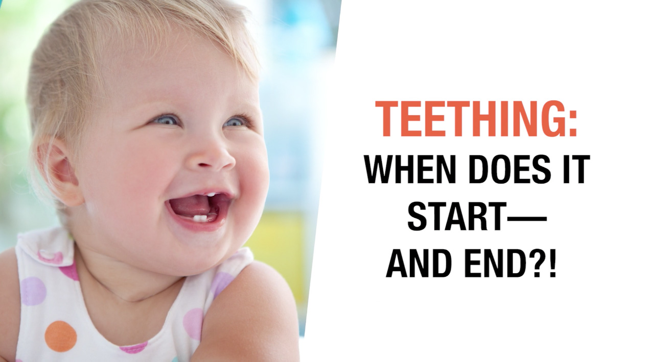 Is it normal for a baby to start teething at 3 months?