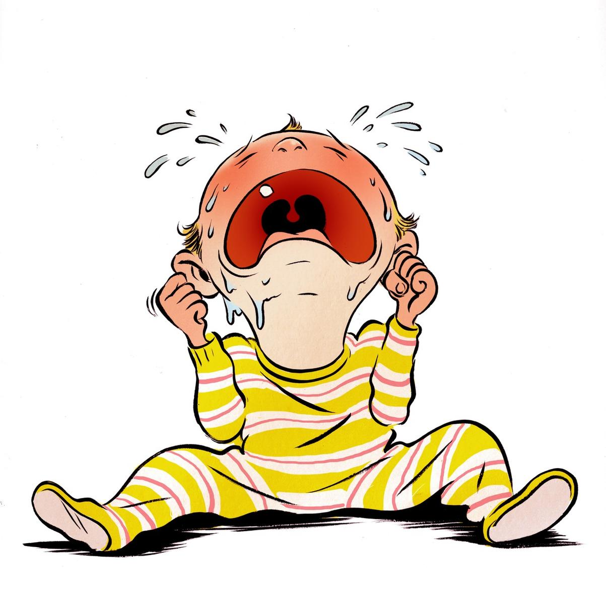 American baby magazine cartoon baby crying voltagebd Image collections