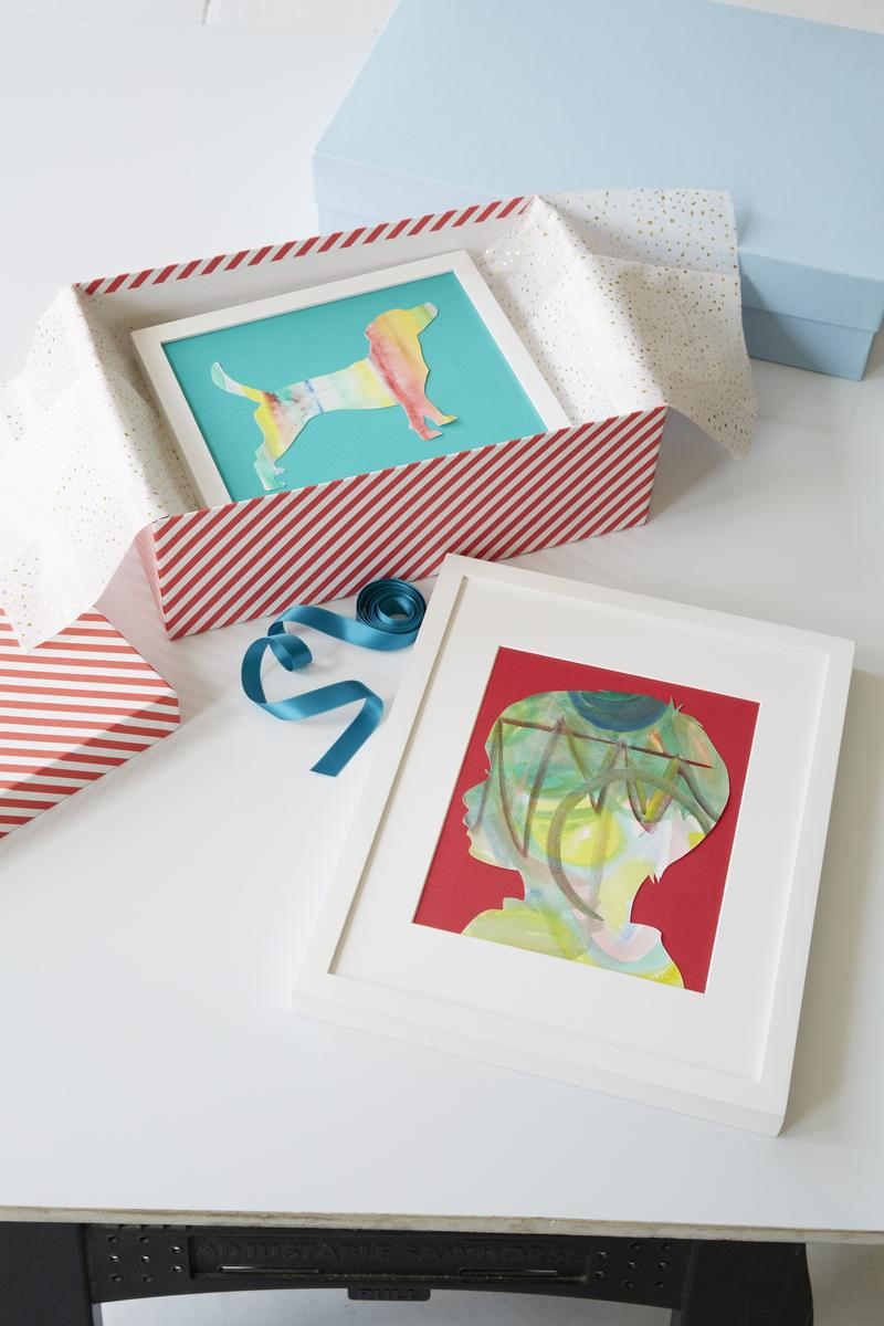 Create Gifts Out Of Your Kids Artwork
