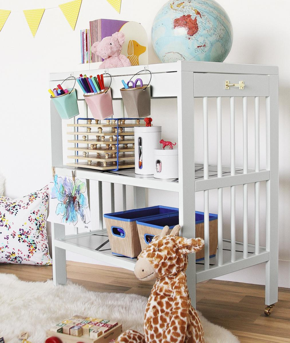 Blogger DIY Challenge: Hack the Changing Table!