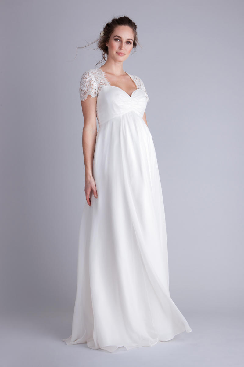 9 gorgeous maternity wedding gowns parents ombrellifo Gallery