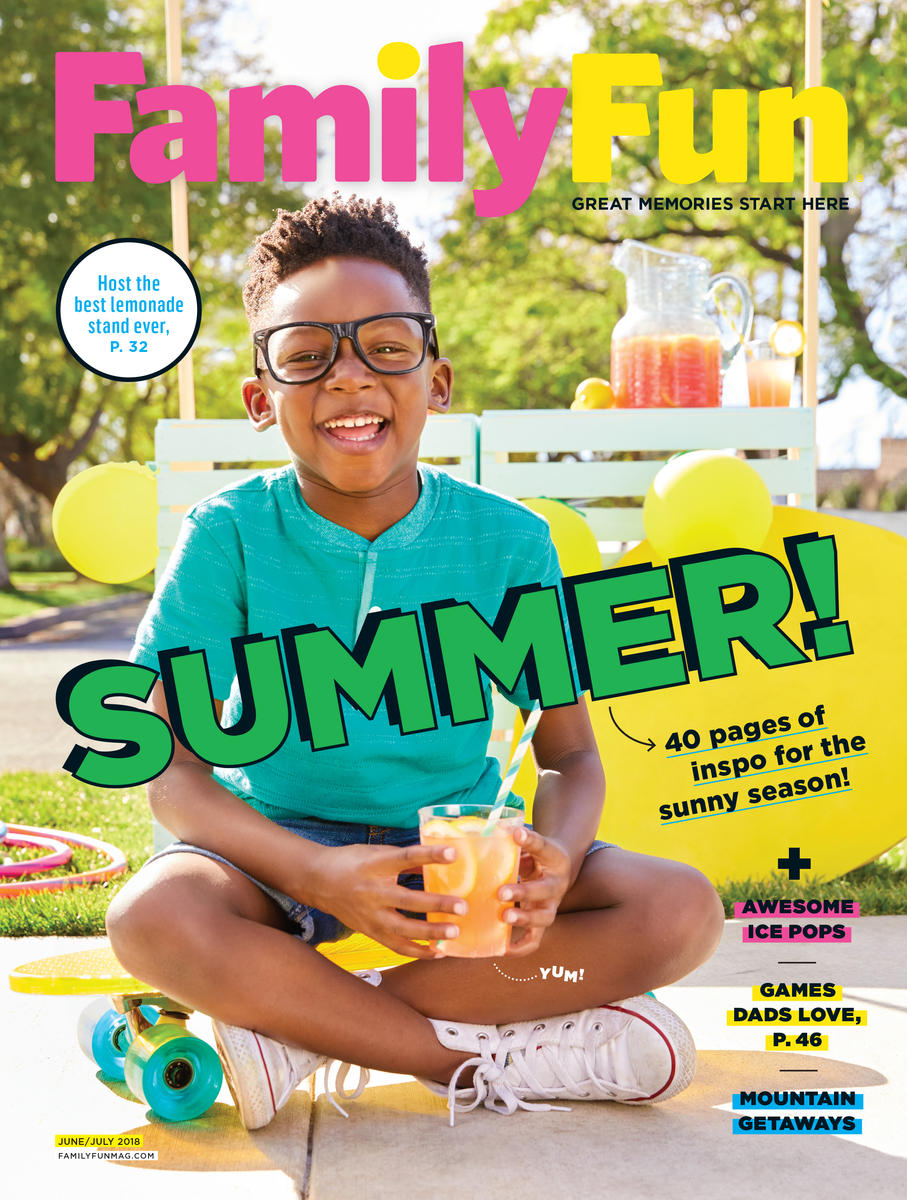 FamilyFun June July 2018 COVER