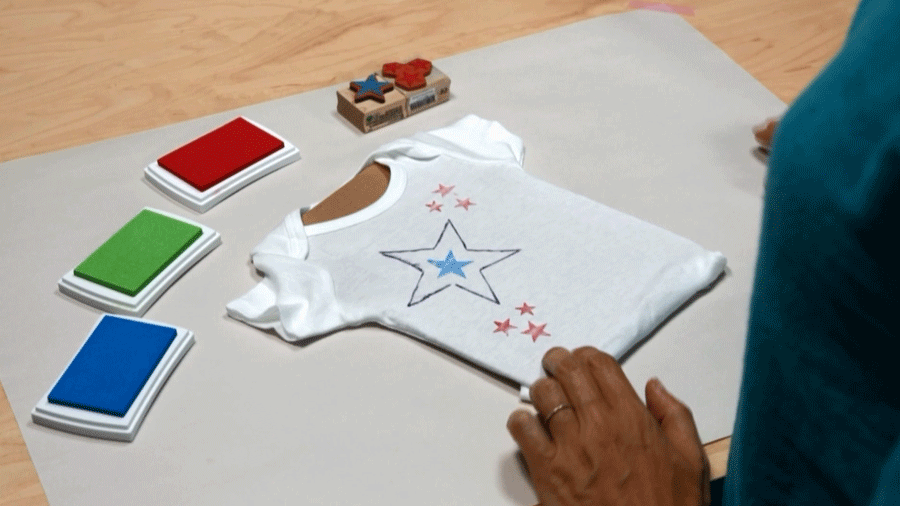 Games Of Baby Showers ~ Baby shower games: star onesies parents