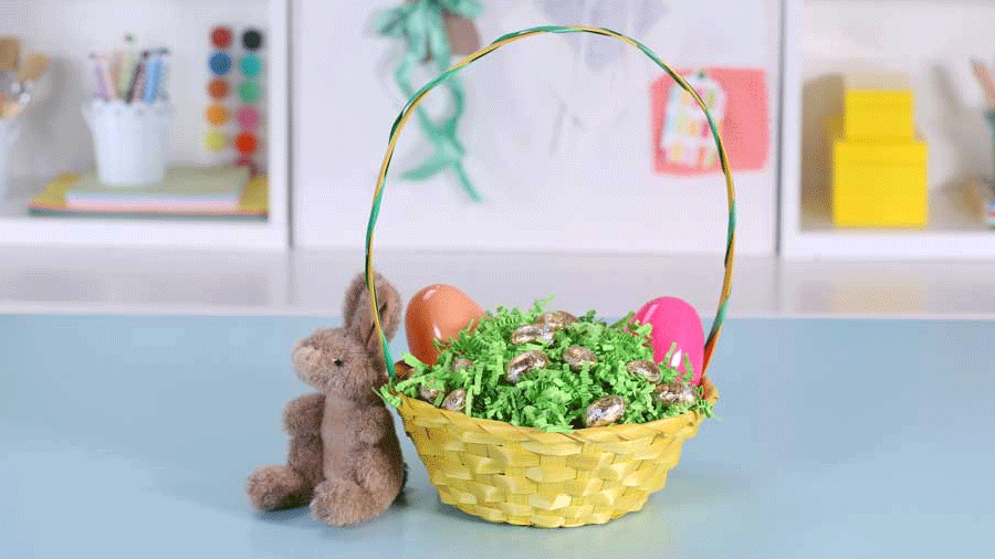 How to craft a surprise easter basket negle Images