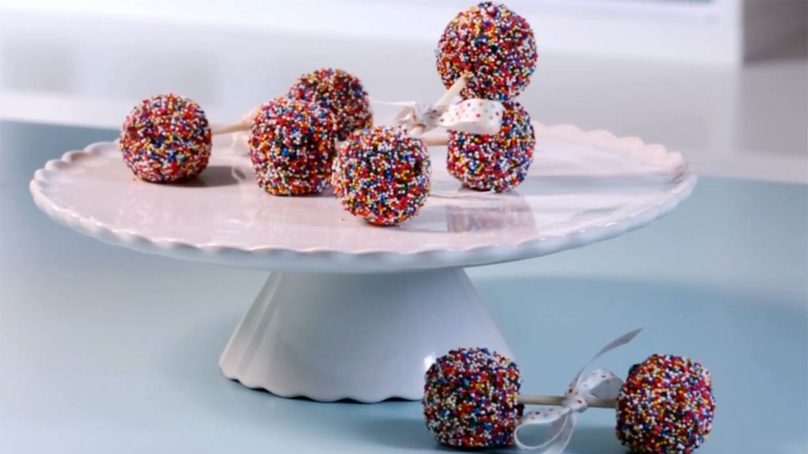 Baby Shower Ideas How To Make Brownie Pop Rattles