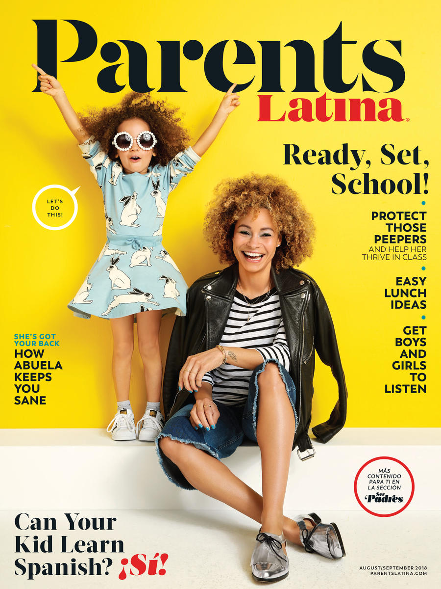 Parents Latina August September 2018 COVER