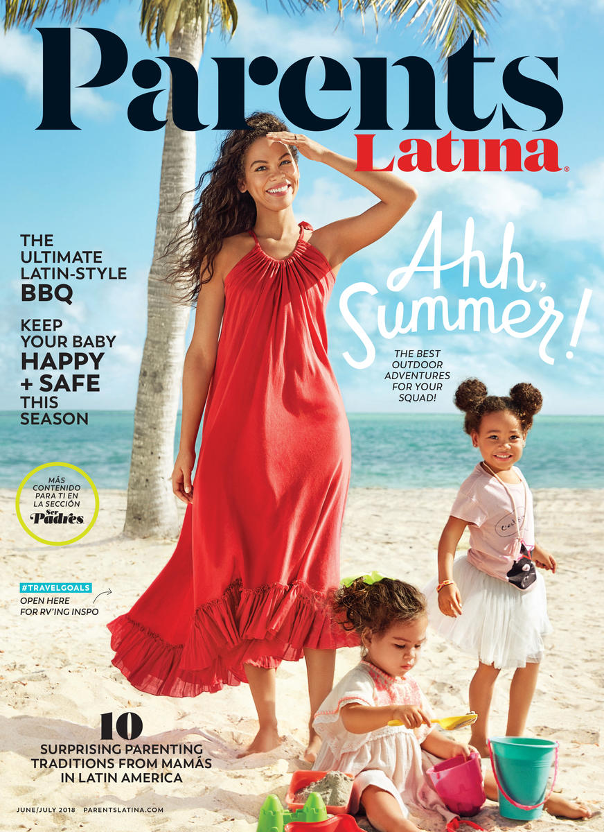 Parents Latina June July 2018 COVER