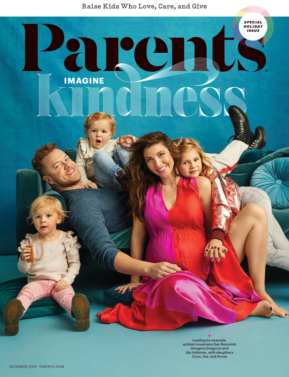Parents Magazine DECEMBER 2019 Cover