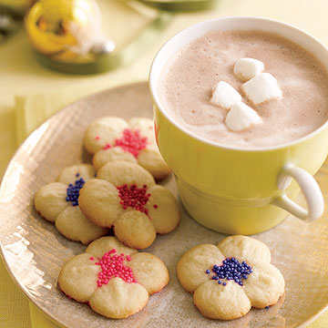 Almond Spritz Cookies