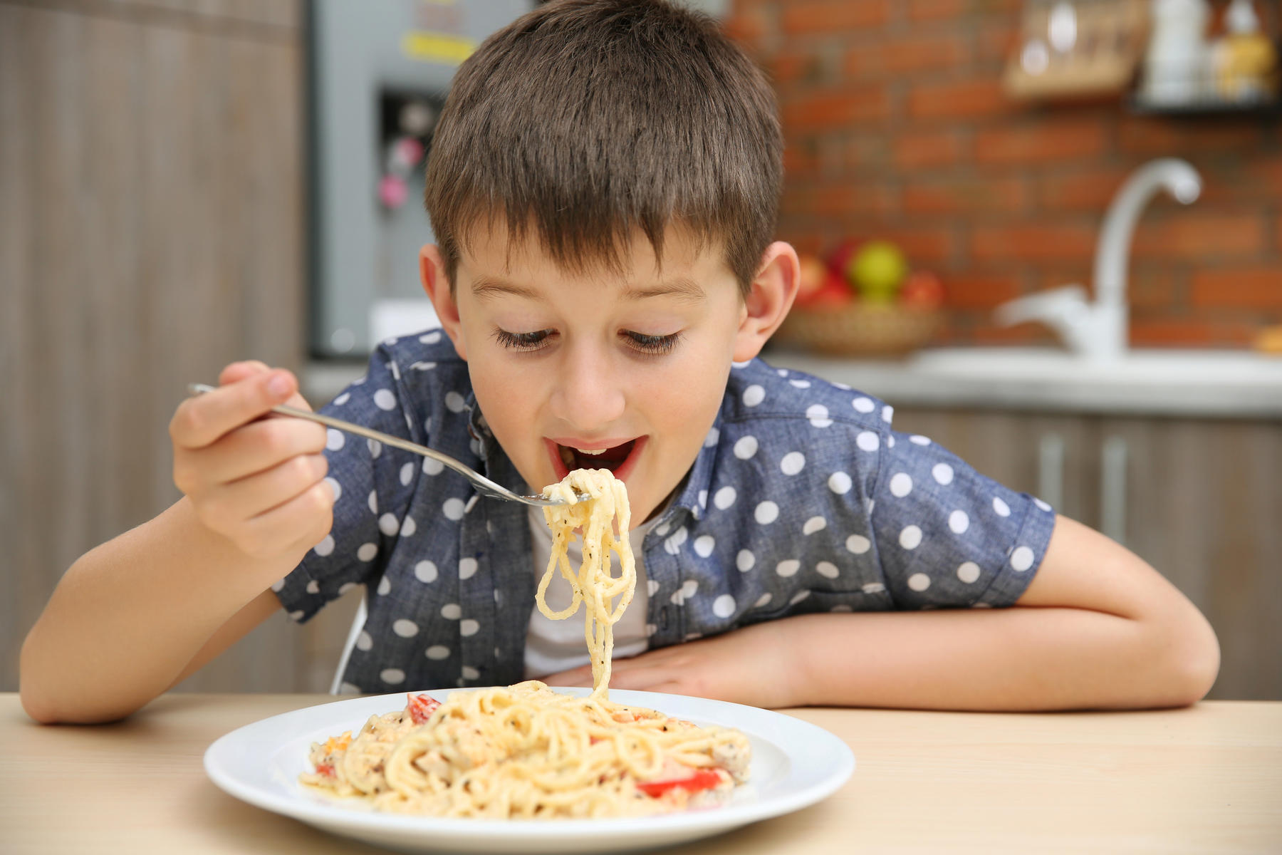 Why It s Okay If Your Kid Eats Pasta All the Time