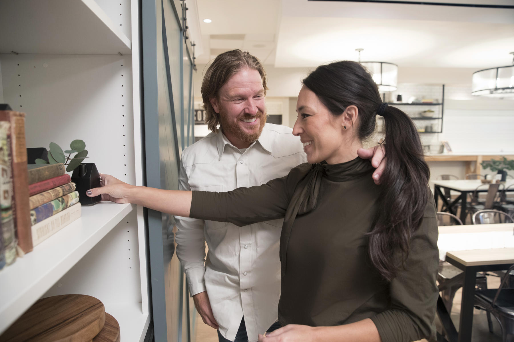 Chip and Joanna Gaines Decorating Target House Reno