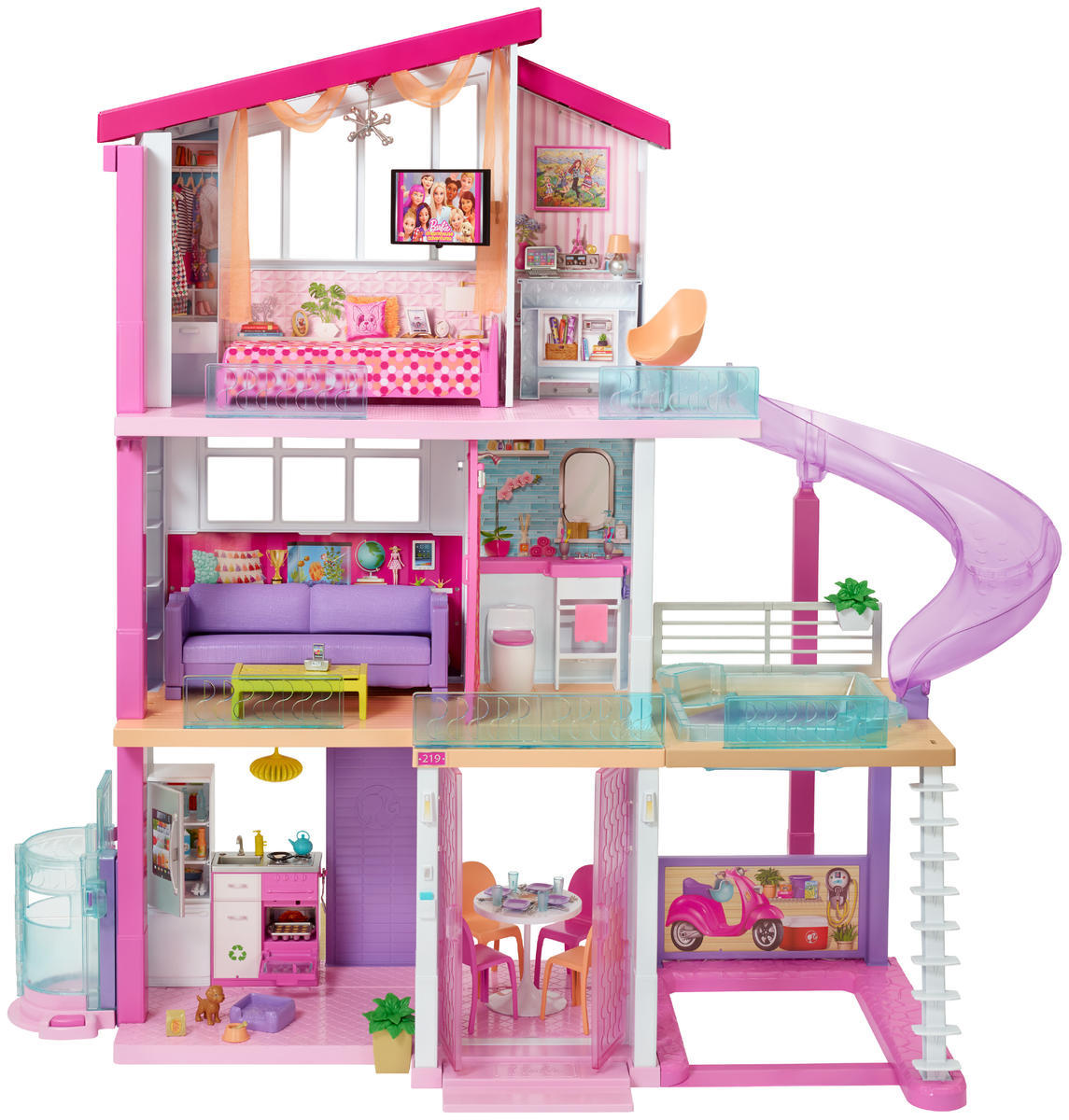 The 2018 barbie dreamhouse would be a million dollar - Casa in canapa costo ...