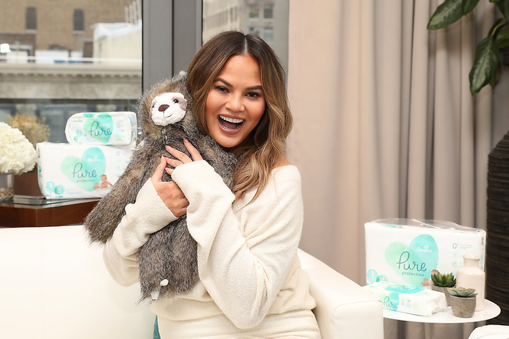 Chrissy Teigen Collab With Pampers