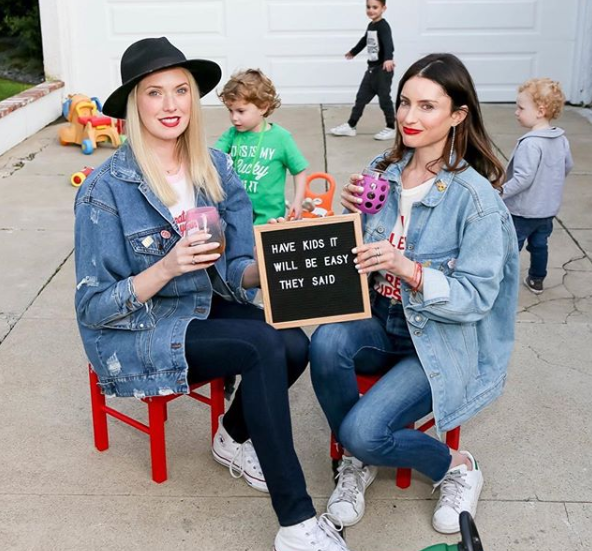 Samantha Gutstadt and Haely White of Don't Call Me Mommy