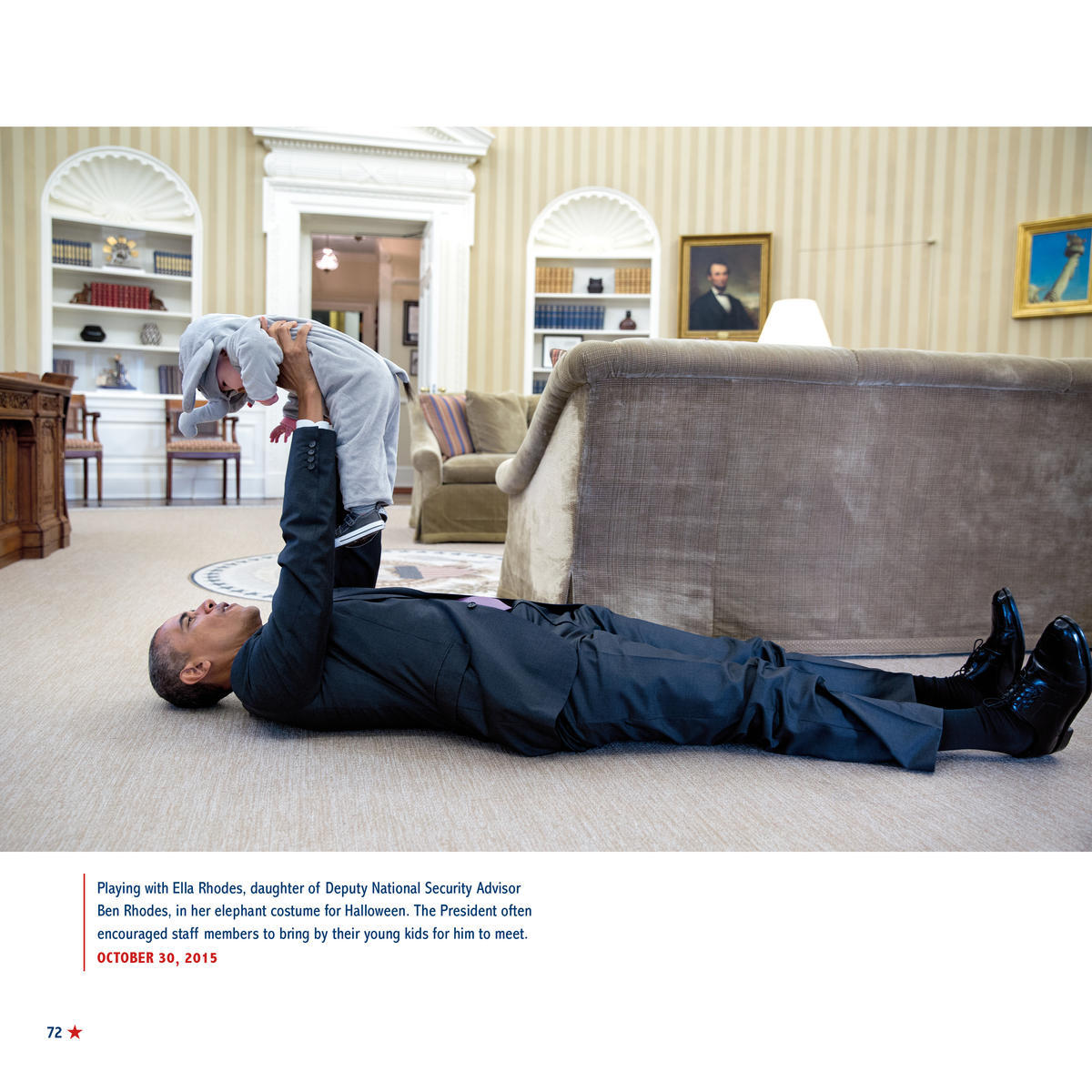 President Obama Playing With Baby, Exclusive Images from His White House Photographer's New Children's Book
