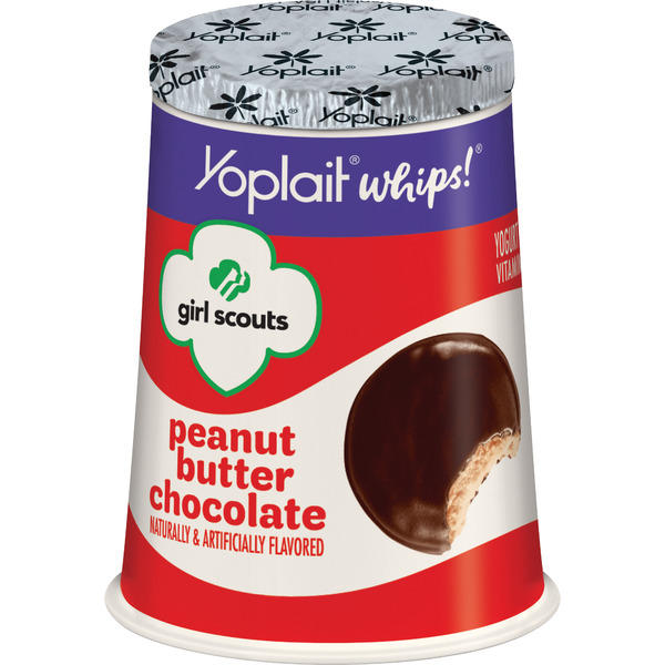 Peanut Butter Chocolate Yoplait Whips