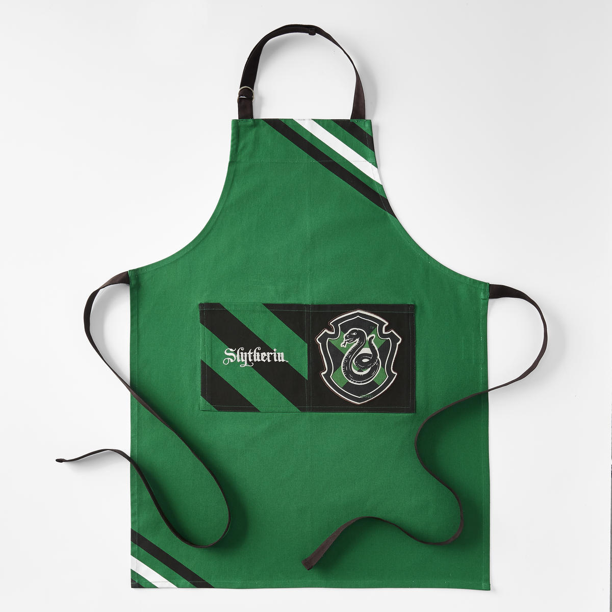 Harry Potter Apron Slytherin William Sonoma