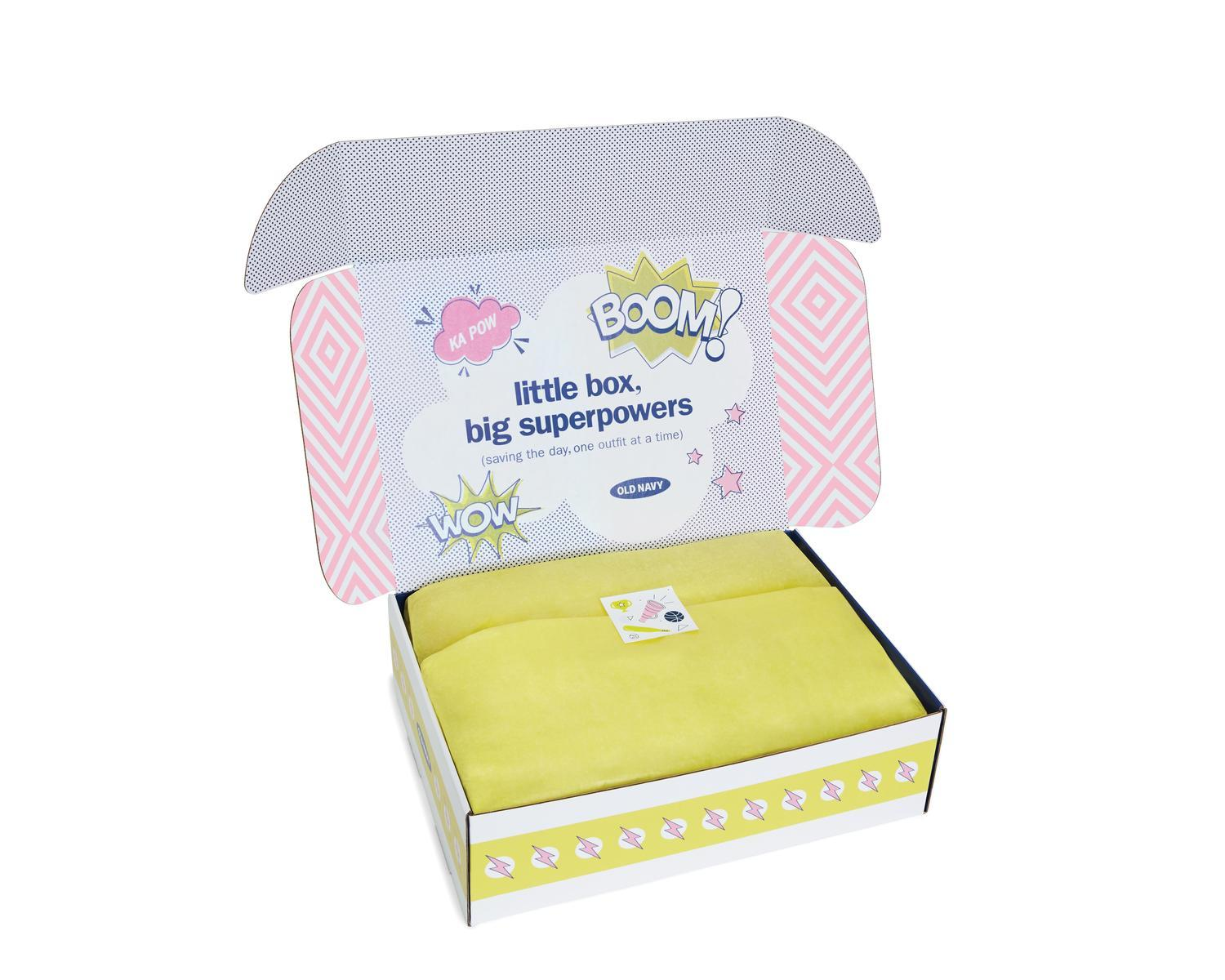 """Old Navy Announces The Launch Of Their Kid Subscription Box """"Superbox"""""""