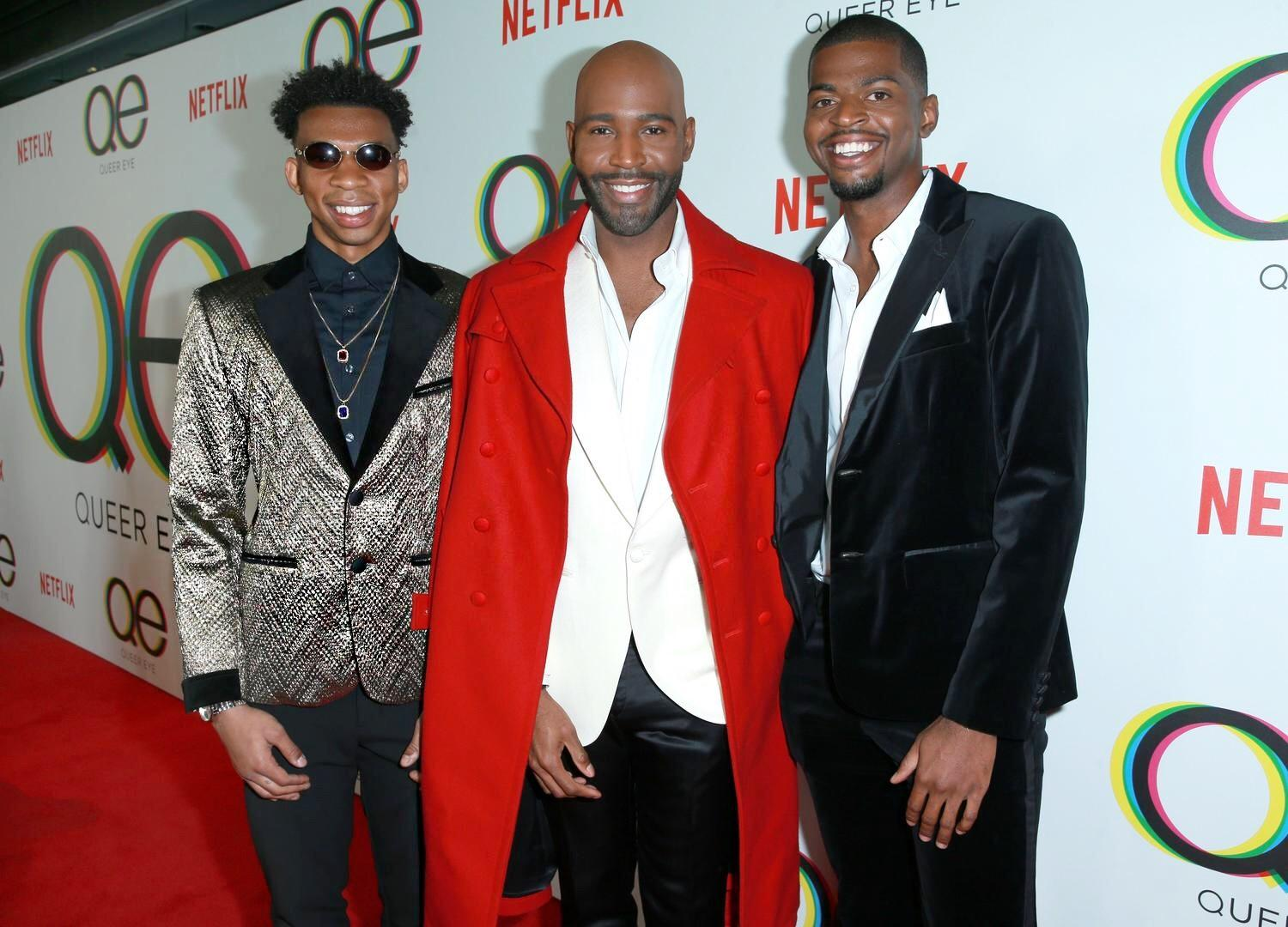 Karamo Brown With His Sons Jason and Chris