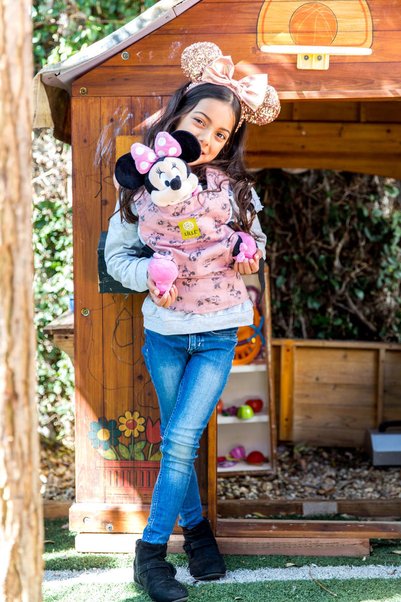 Lillebaby mini mouse baby carrier