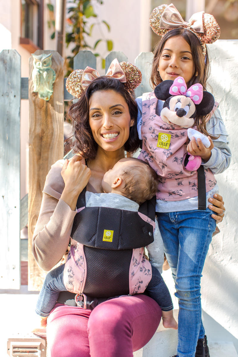 Lillebaby mini mouse kid and adult carrier