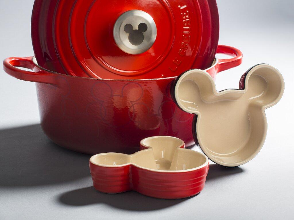 Le Creuset and Disney Collab