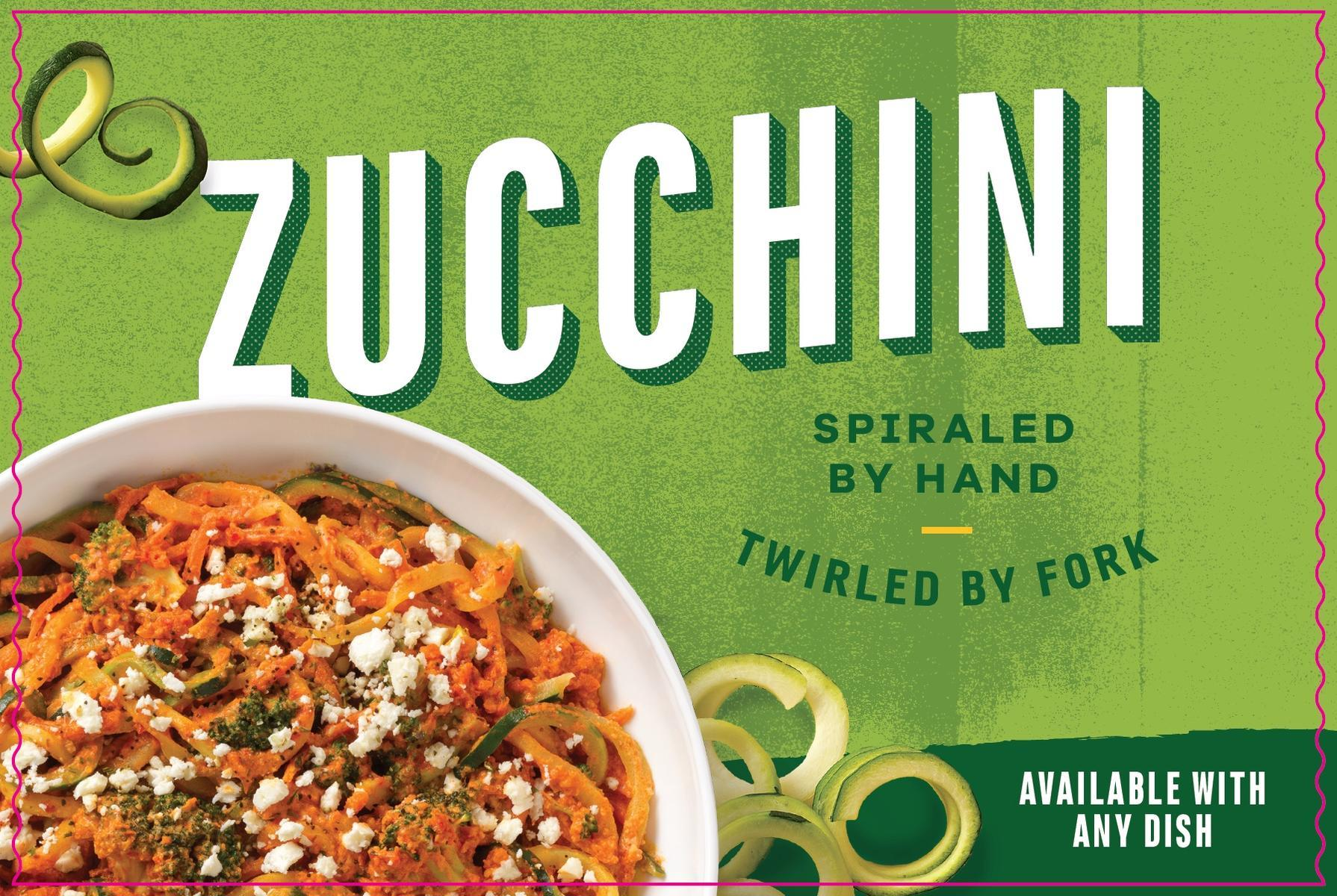 Noodles & Co. Zoodles