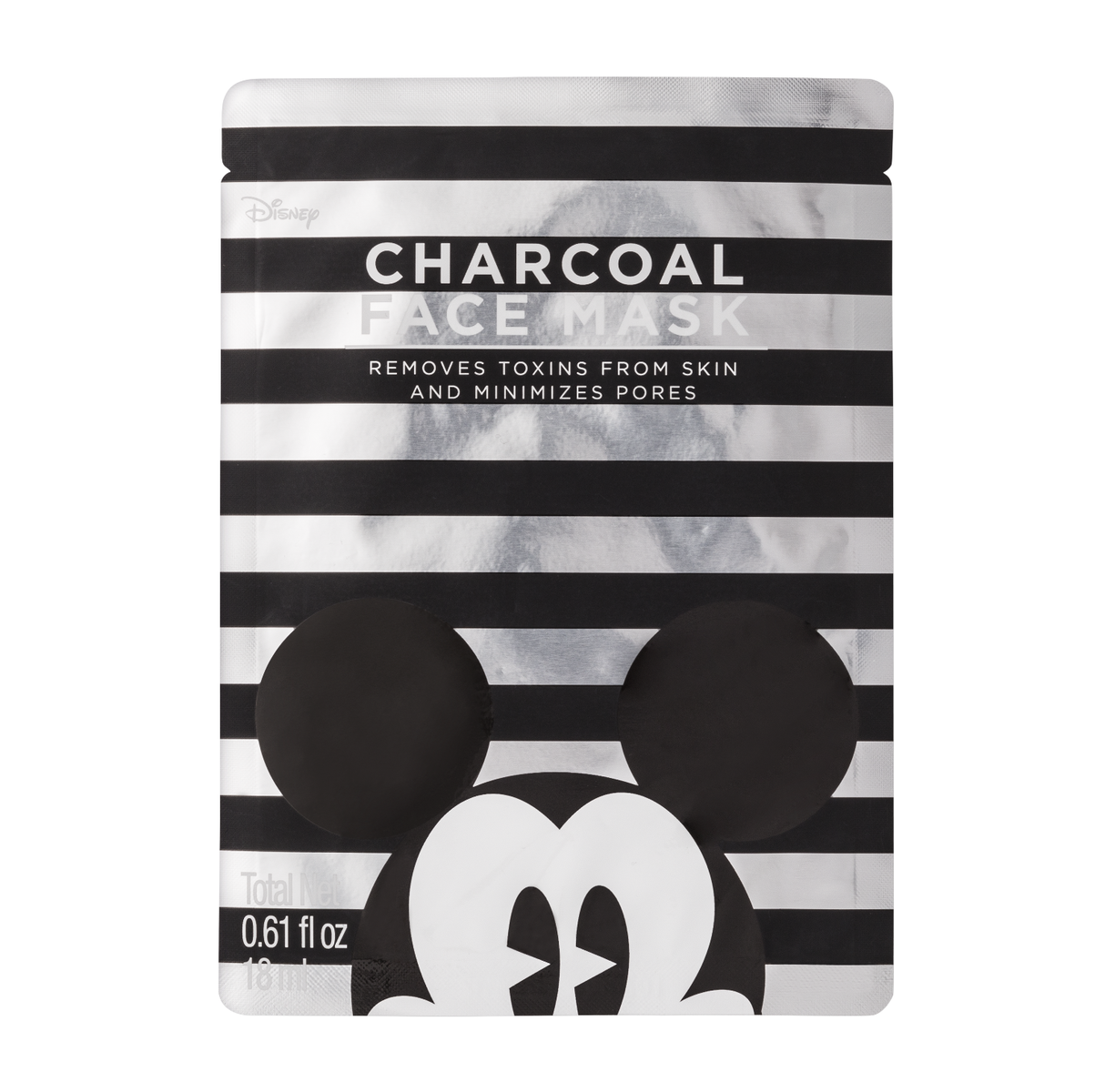Mickey Mouse X Target Charcoal Face Mask