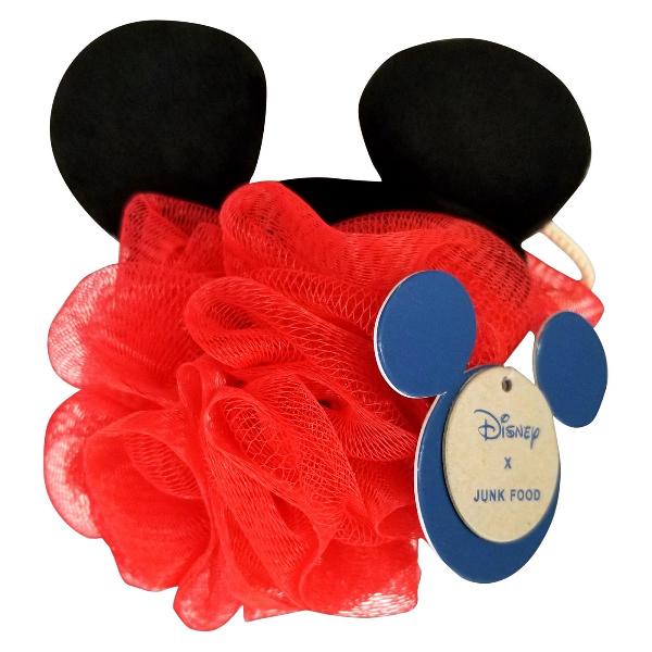 Mickey Mouse Bath Pouf