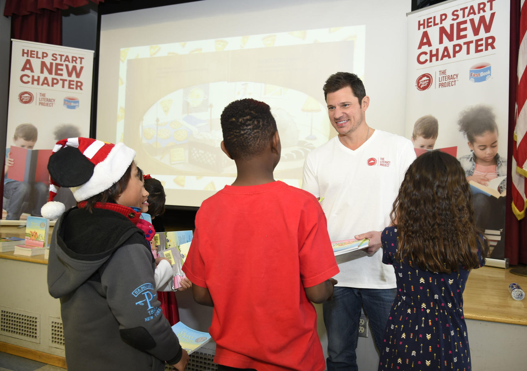 Nick Lachey The Literacy Project