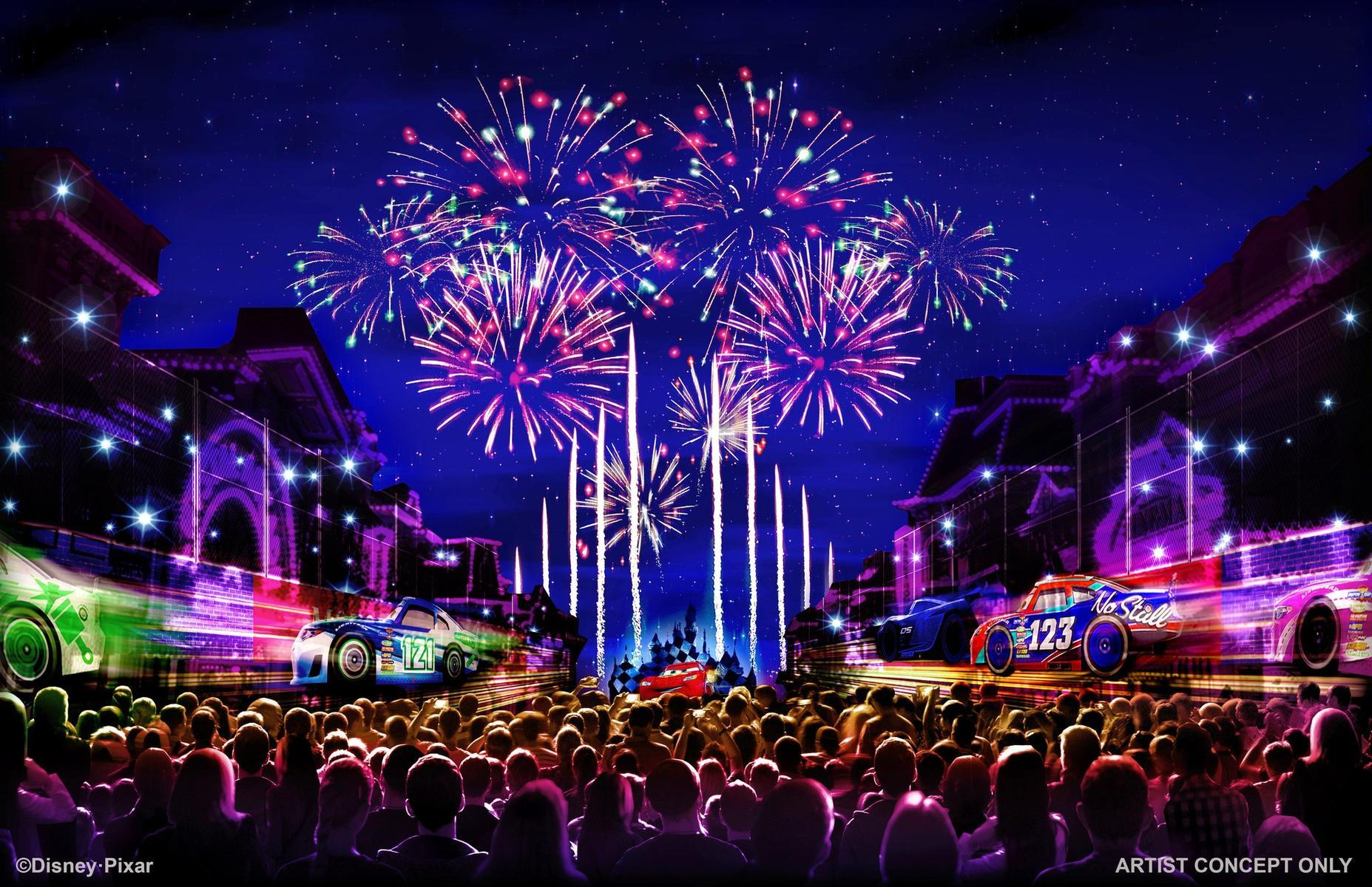 "Pixar Pier ""Together Forever"" Fireworks"