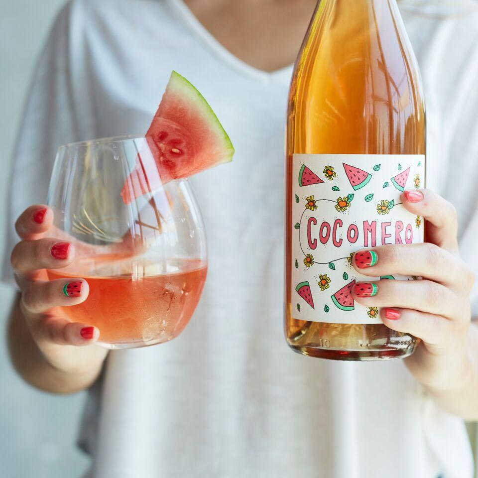 Cocomero Scratch-N-Sniff Wine