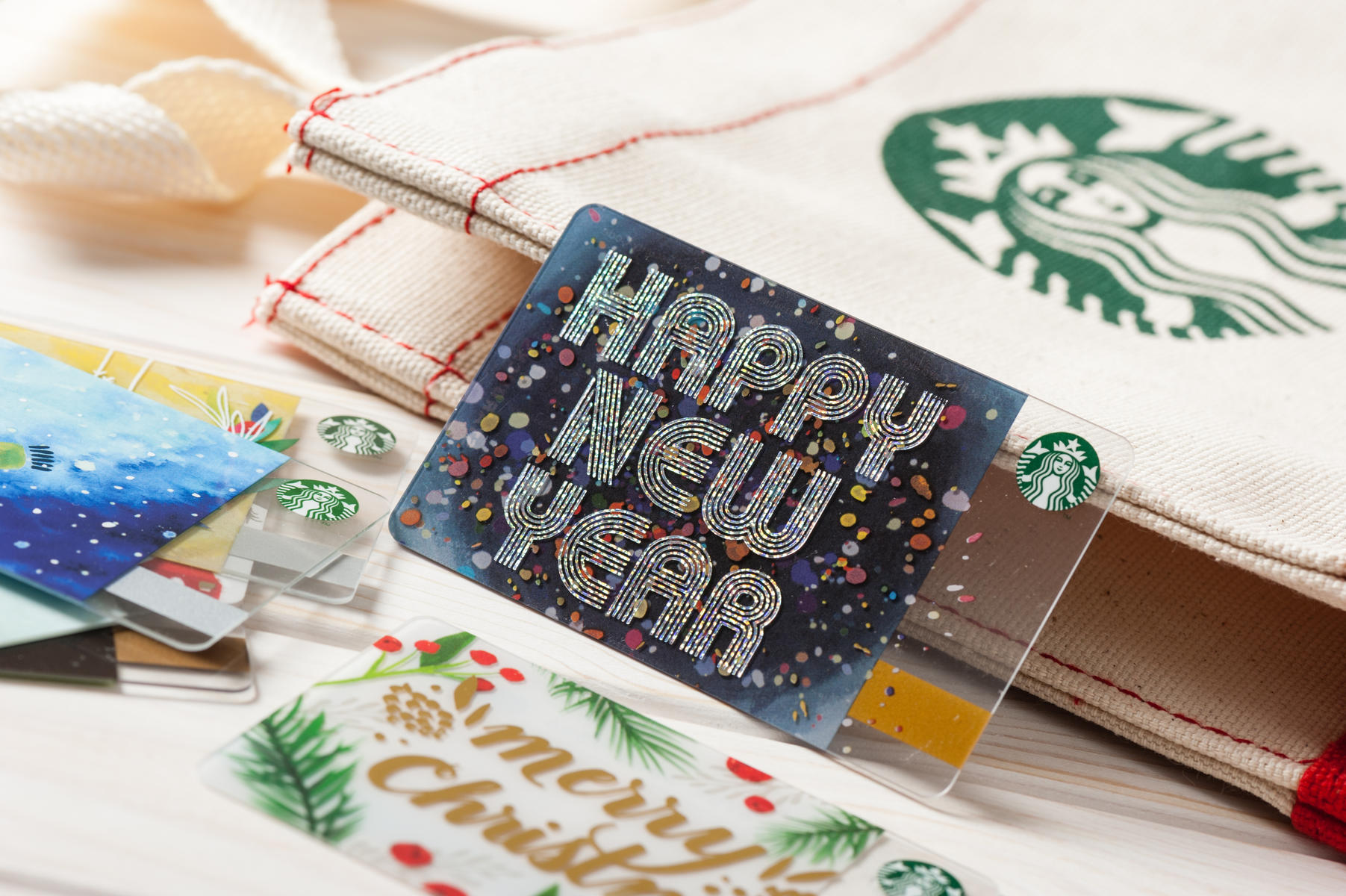 Starbucks New Year