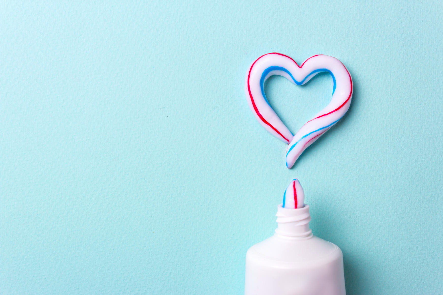 Heart Shaped Toothpaste