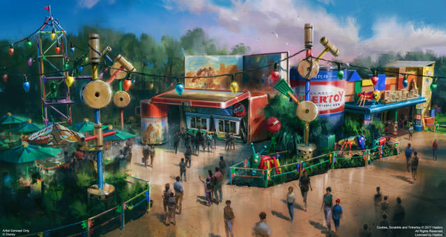 Toy Story Land New Rendering