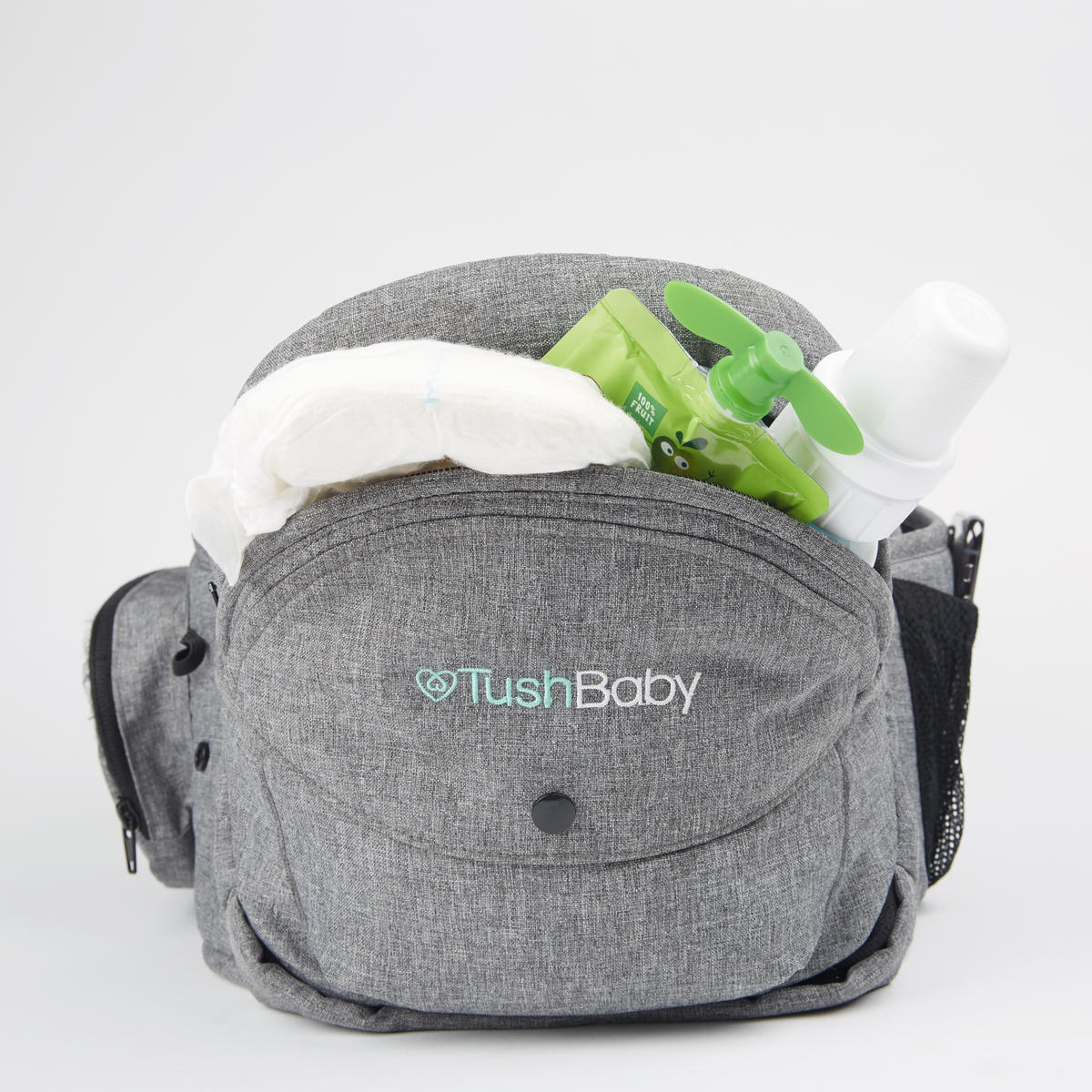 TushBaby Carrier Front View