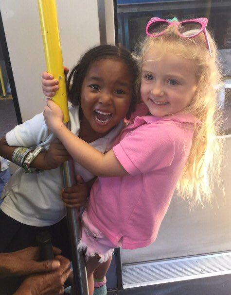4-year-old BFFs Jia Sarnicola and Zuri Copeland