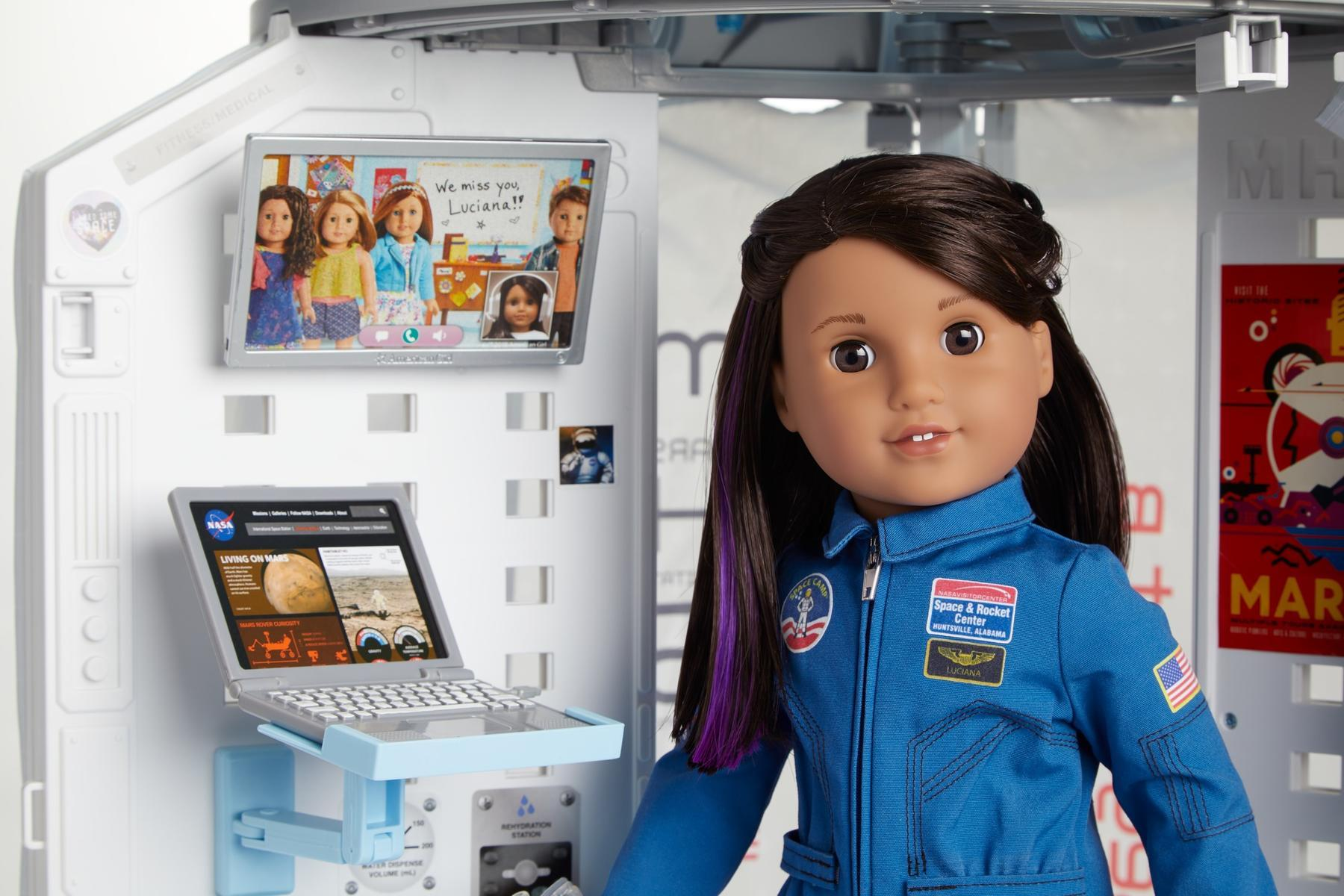 Luciana Doll in Space