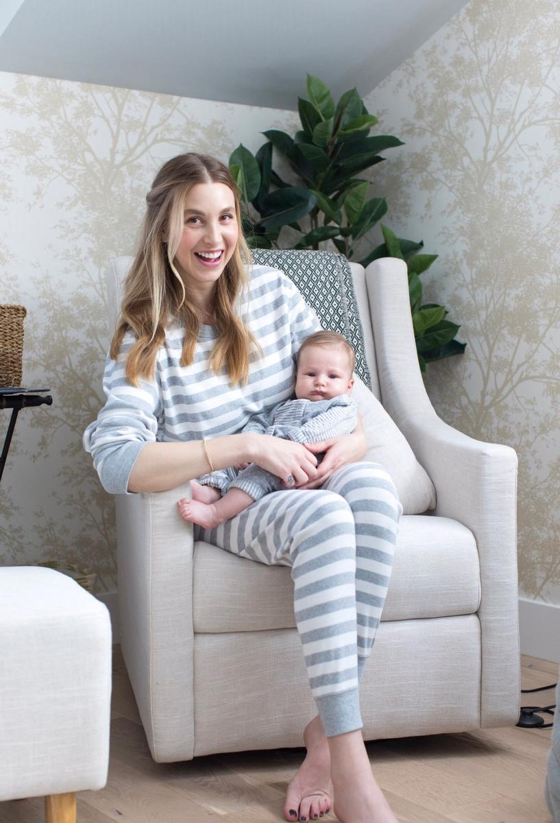 Whitney Port And Sonny In Matching Pajamas