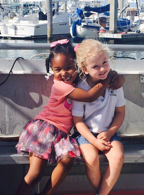 4-year-old BFFs Jia and Zuri