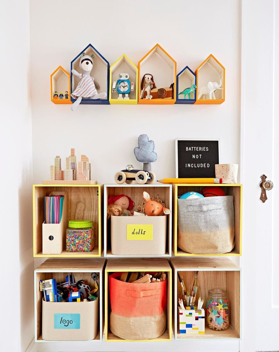 Diy Toddler Bookshelf
