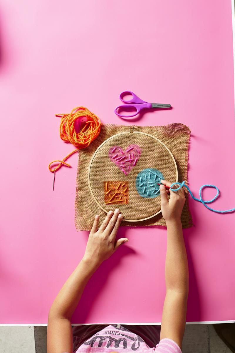 Sew Fun 3 Easy Embroidery Projects