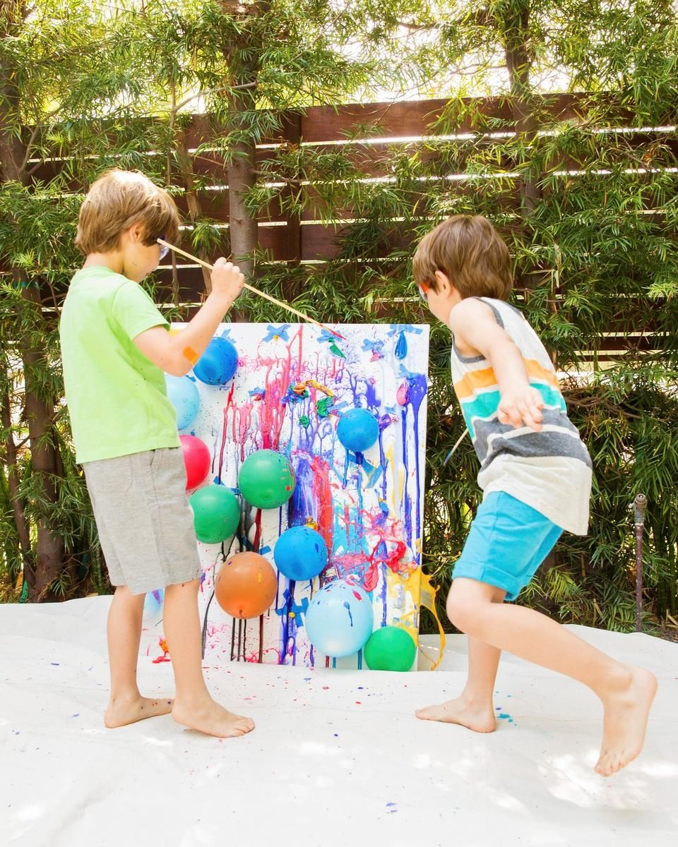 Amazing outdoor art projects for Craft paint safe for babies
