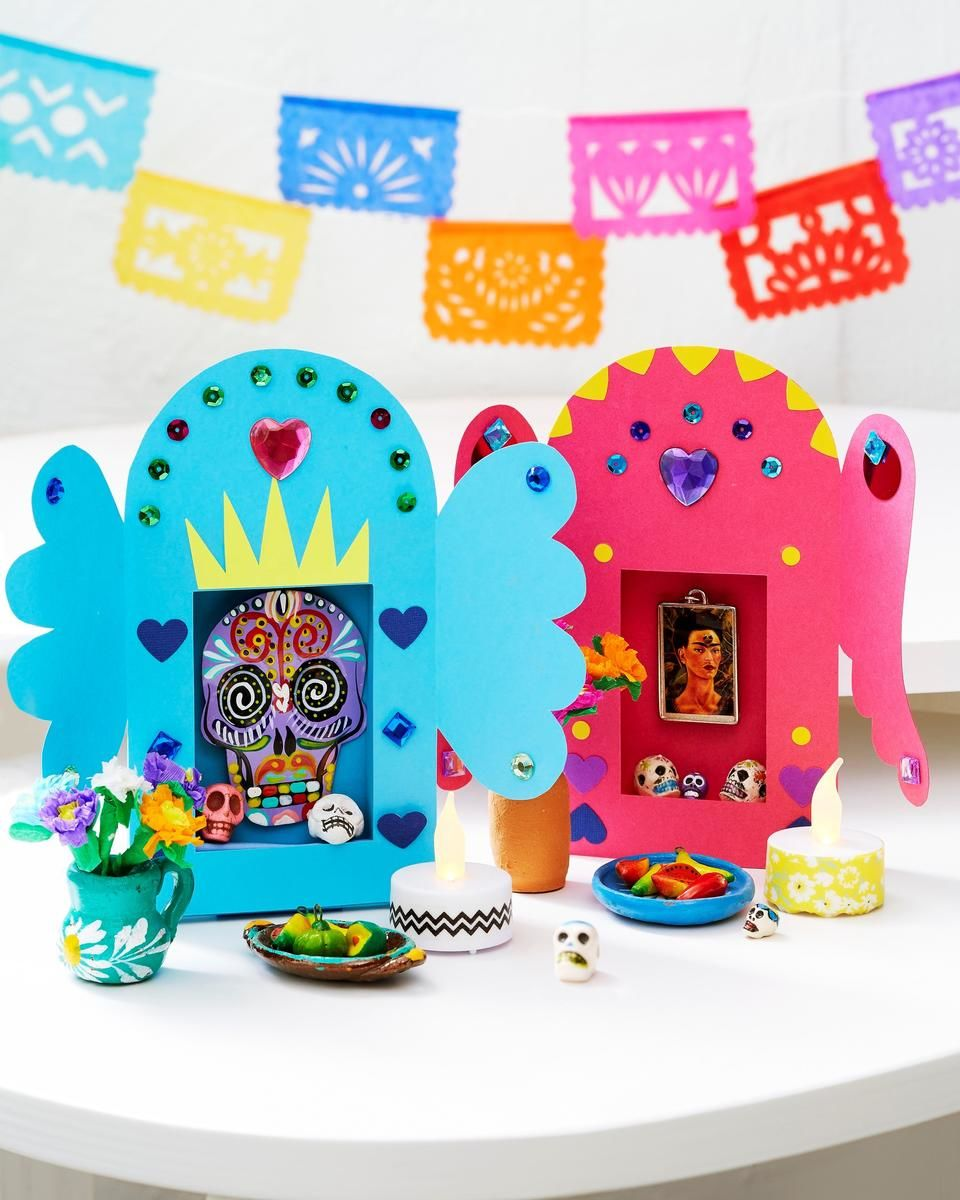 4 fun day of the dead crafts for kids parents for Day of the dead craft supplies