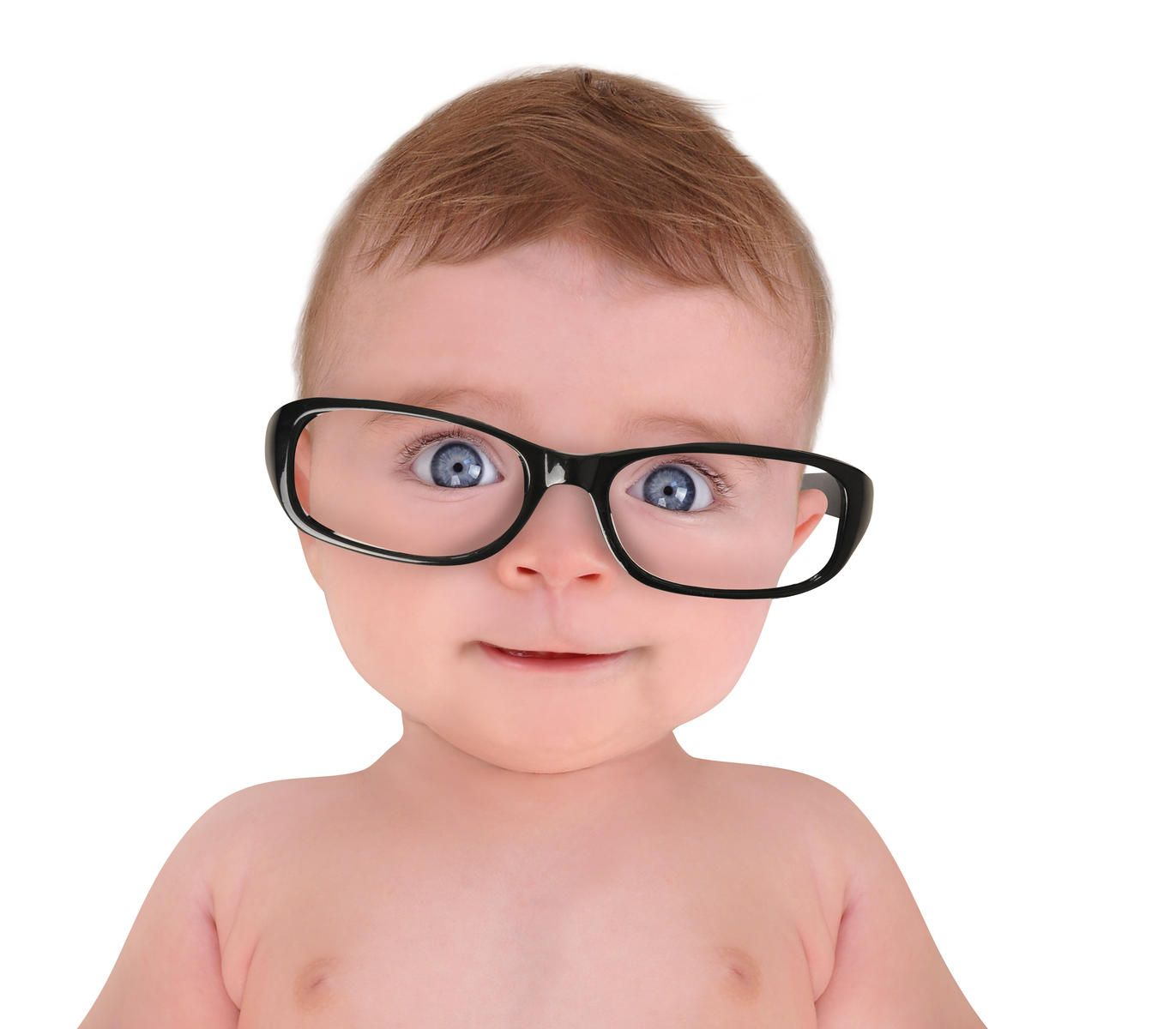 Baby With Big Glasses