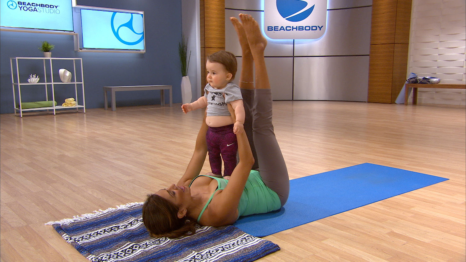 Easy at Home Mommy-Baby Workout with Desi Bartlett