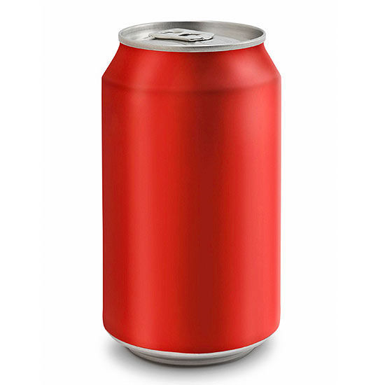 Aluminum Can Soft Drinks
