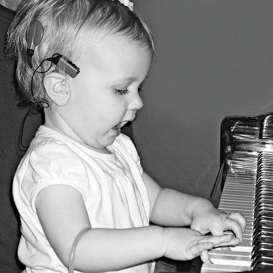 Music to Her Ears Cochlear Implants
