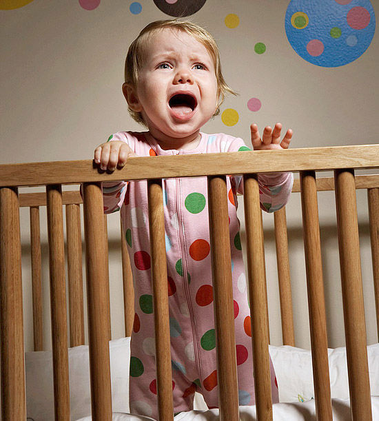 how to get baby to sleep through the night again